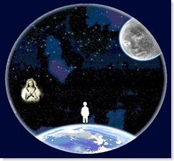 Космос и человек. © Митя Вирский 2006