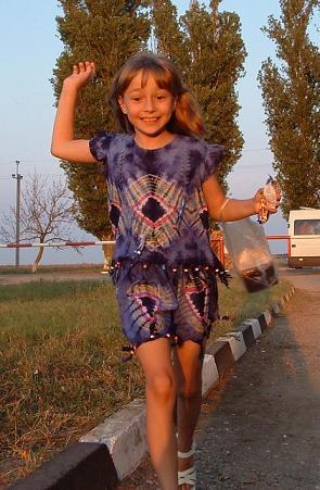Радостный бег. © Митя Вирский 2005