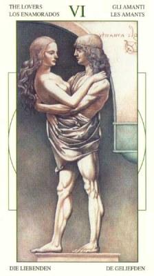 6. Lovers. LeonardoDaVinciTarot