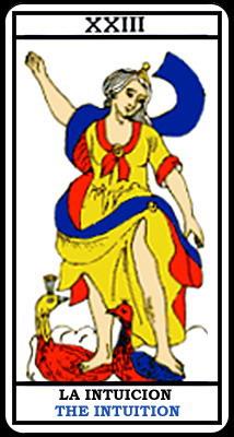 XXIII. Интуиция. Марсельское Таро.