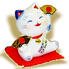 Maneki-Neko_with-a- Fan
