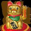 gold_Maneki-Neko