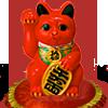 red_Maneki-Neko