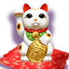tri-color_Maneki-Neko