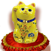 yellow_Maneki Neko