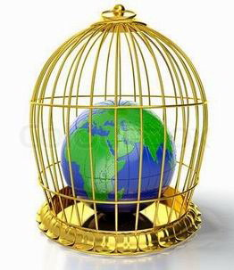 Earth-in- cage