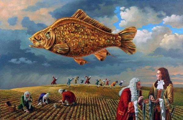 Gold Fish Rising III - Reality