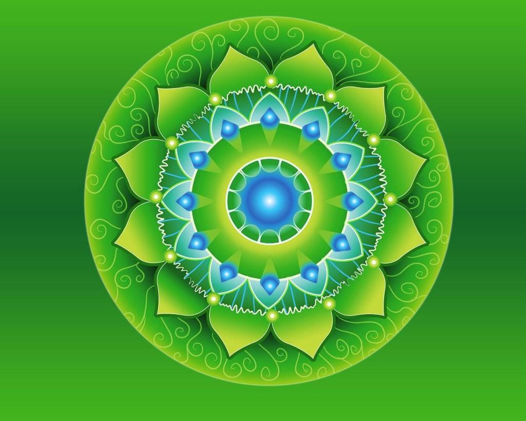 Mandala chakry Anakhata