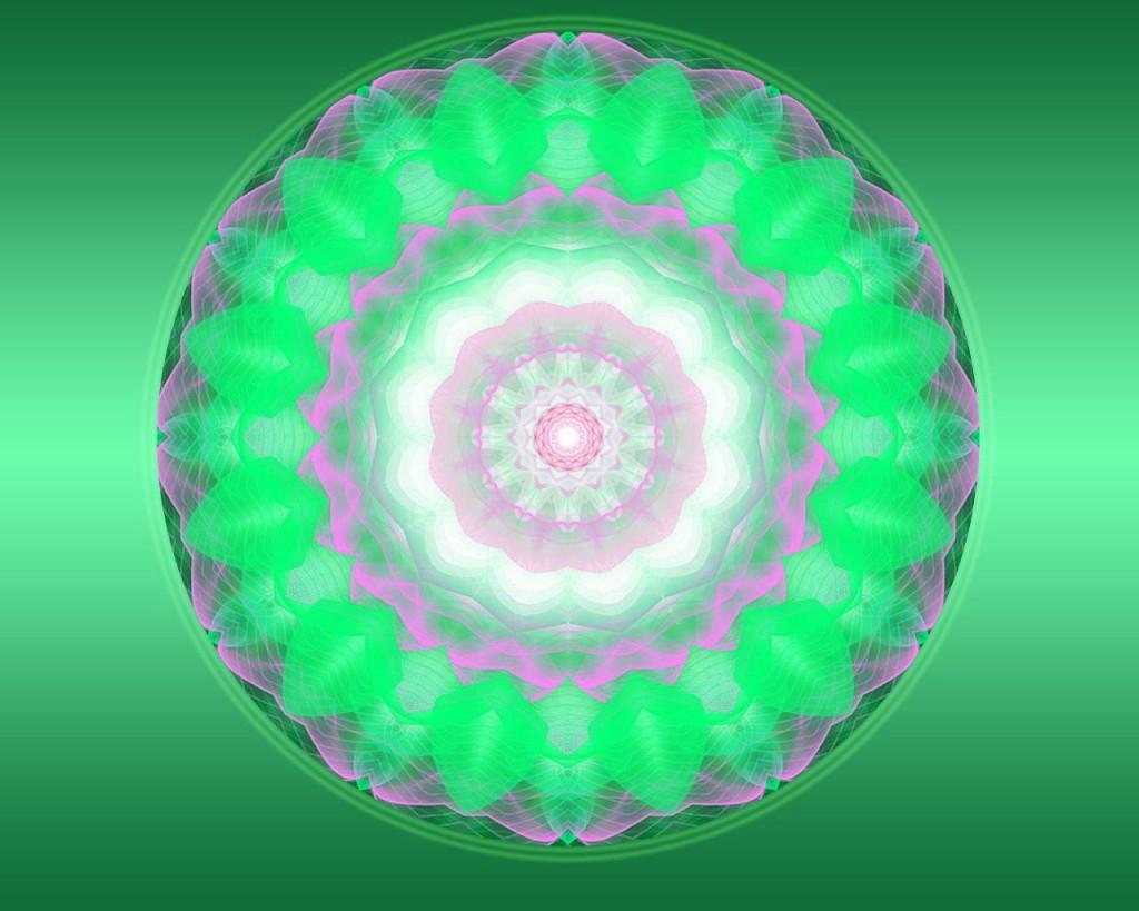 Mandala serdechnoy chakry