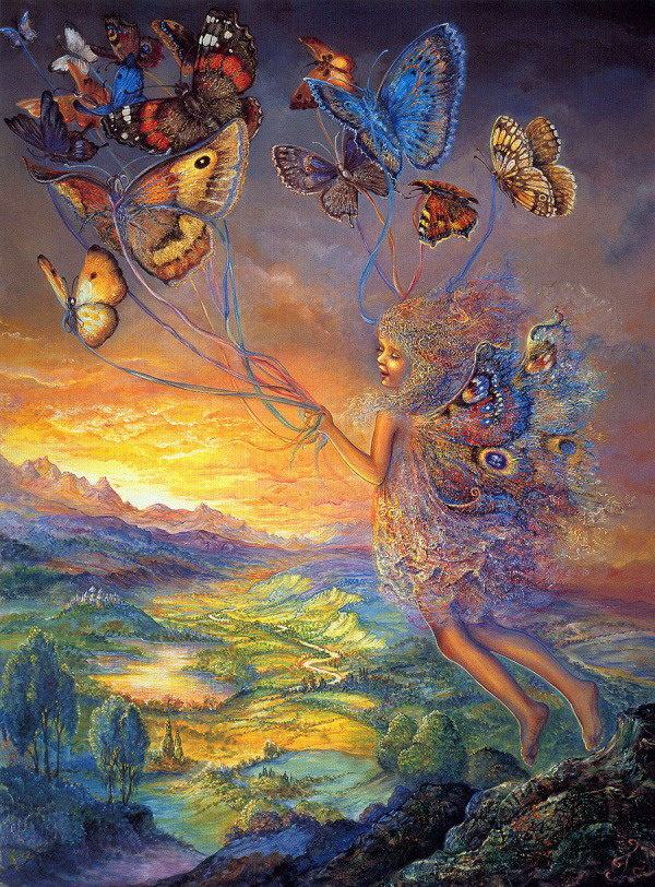 Josephine Wall_Up and Away