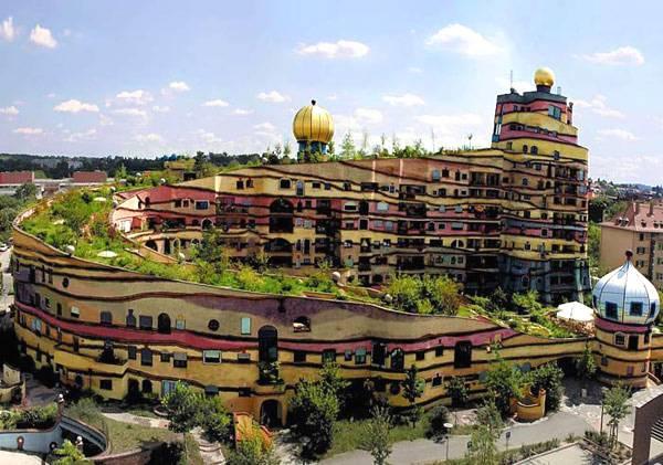 Lesnaya spiral - dom v Darmshtadte
