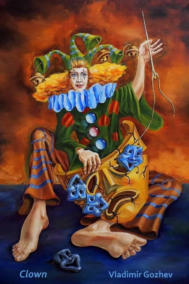 Clown–Vladimir-Gozhev