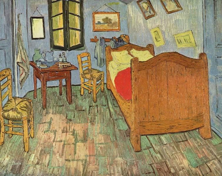 Спальня в Арле - 1889
