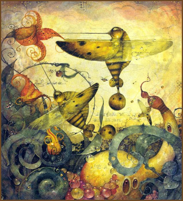 Жужжащие пчелы, Дэниел Мерриам