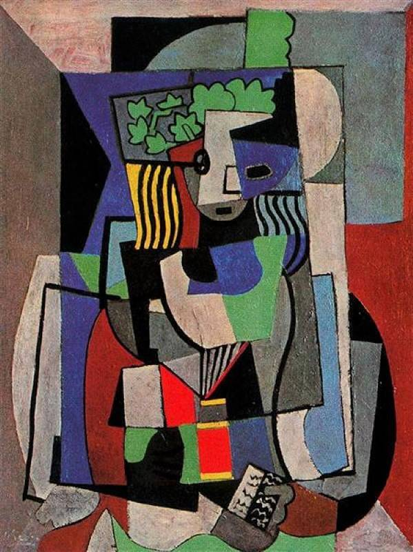 Студентка, Пикассо