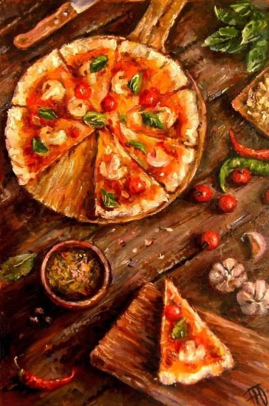 Пицца, Юлия Перепёлкина