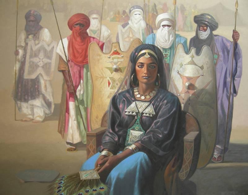 Царица Тин Хинан, Хосине Зиани