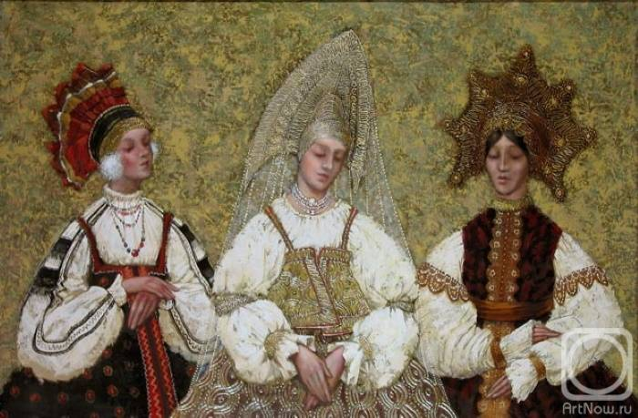 Три девицы, Сергей Поляков