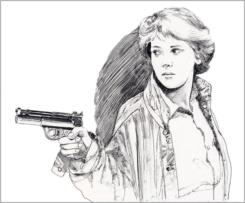 Женщина с пистолетом, Крис Фосс