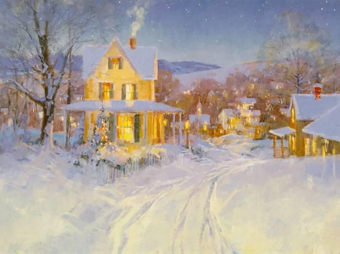 Белый снег, Стив Сонгер