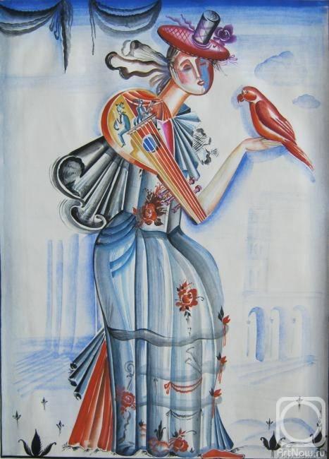 Дама-мандолина, Нина Федорова, 1983