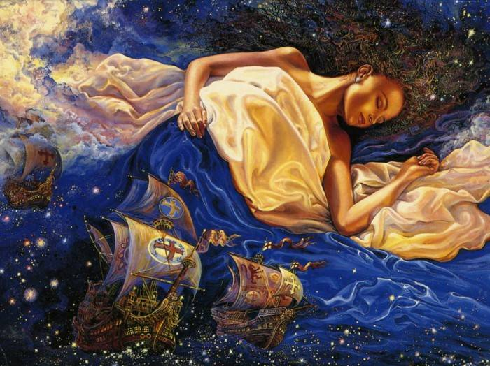 Сказочные сны, Жозефина Волл
