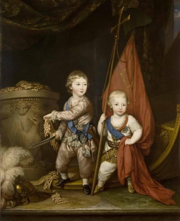 Александр и Константин Павлович