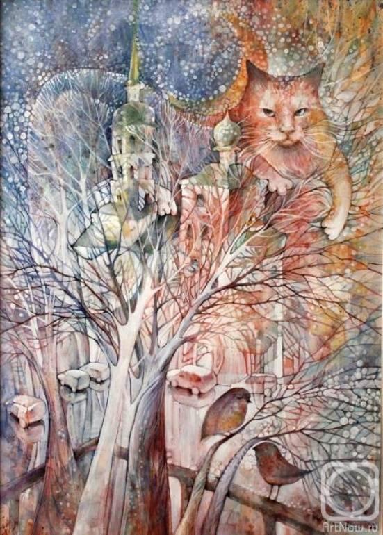 И падал снег, Александра Мартынова