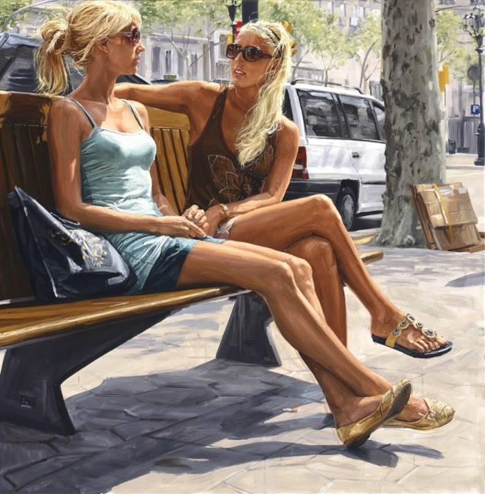 Две блондинки, Мишель Дель Кампо