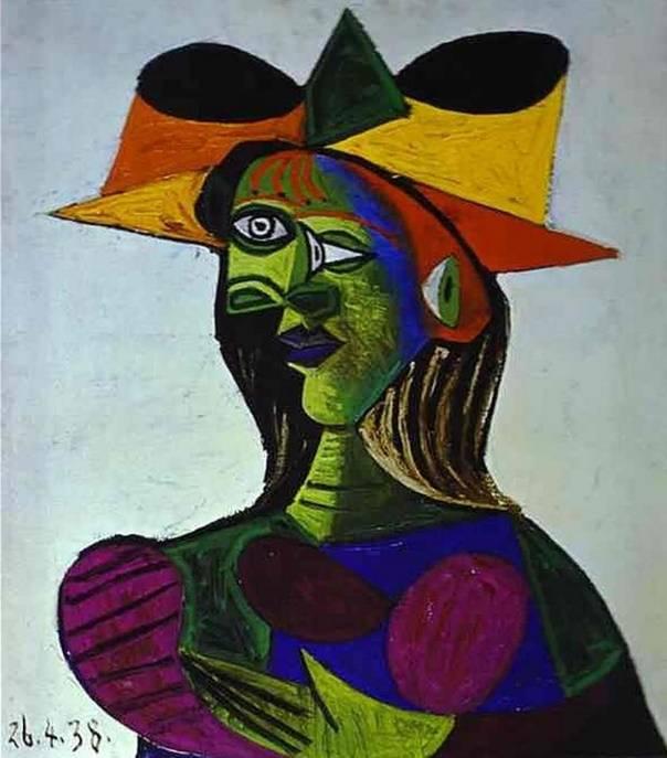 Портрет Доры Маар, Пикассо