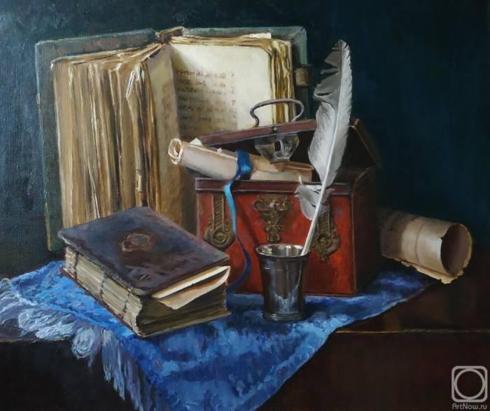 Старые книги, Елена Николаева
