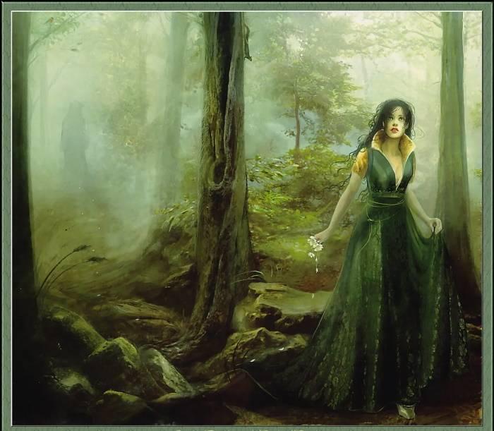 Девушка в страшном лесу, Линда Бергквист