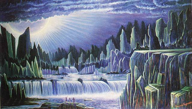 Планета Голубого Солнца 5, Георгий Курнин