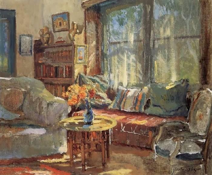 Диван у окна, Колин Кэмпбелл Купер