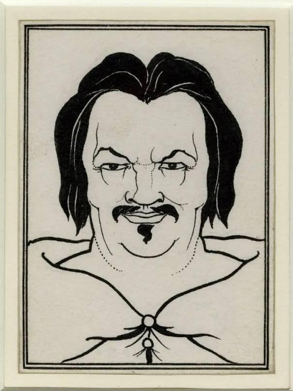 Портрет Бальзака, Обри Бердслей