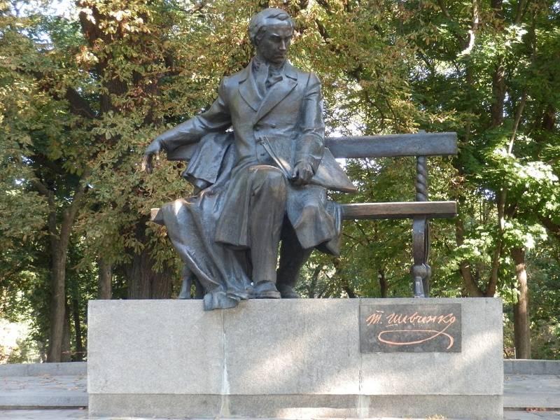Памятник Тарасу Шевченко в Чернигове