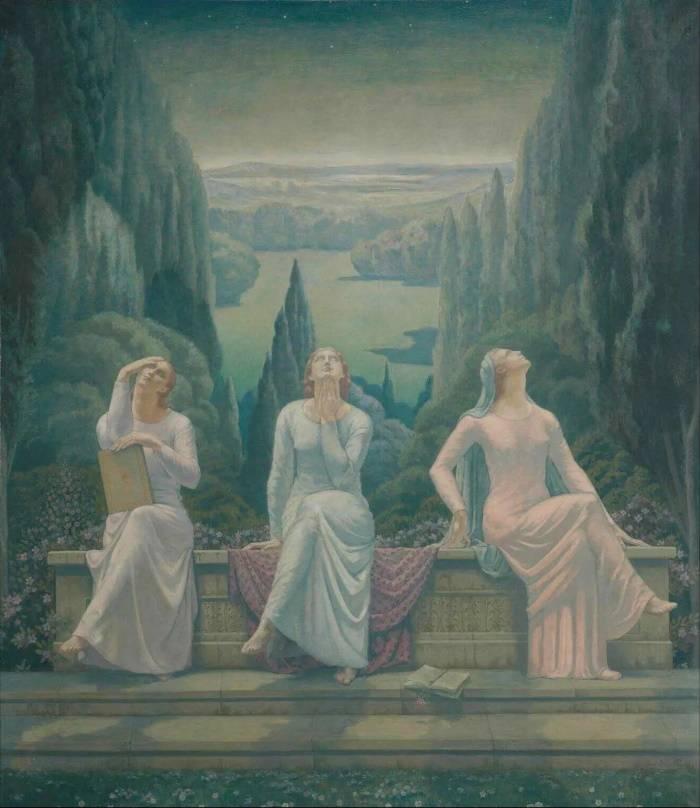 Школа тишины, Жан Дельвиль, 1929