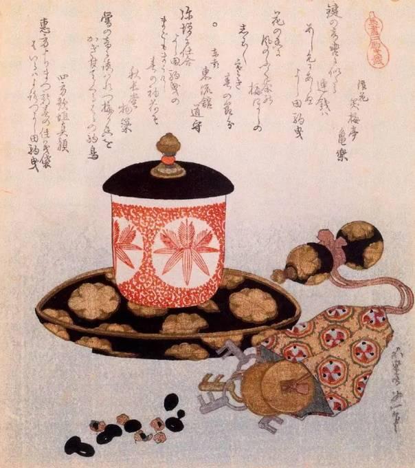 Чай и ключи, Кацусика Хокусай