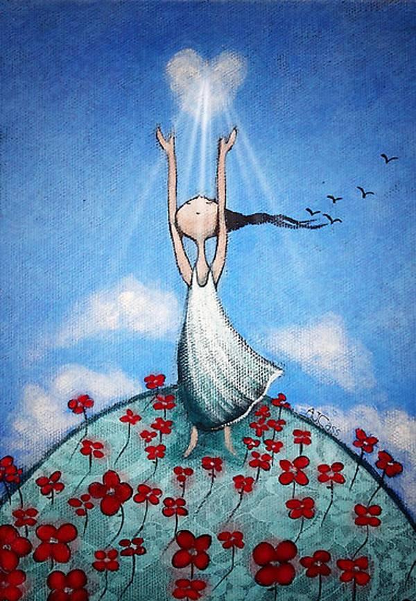 Искусство от сердца, Аманда Касс