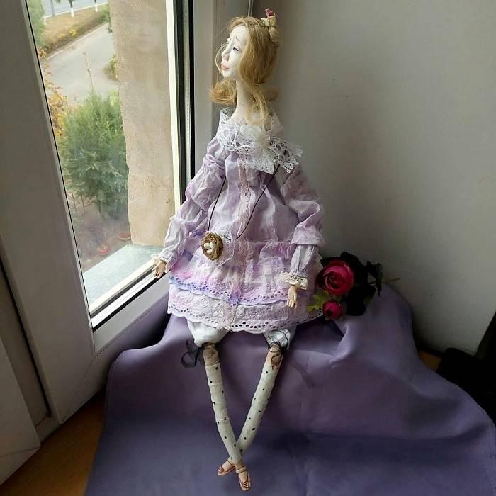 Авторская кукла, Ирина Ядрешникова